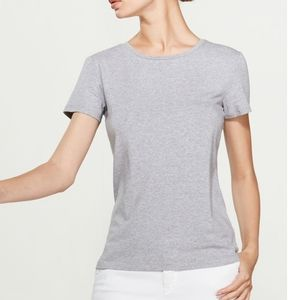 Philosophy Grey Heather Short Sleeve Tee